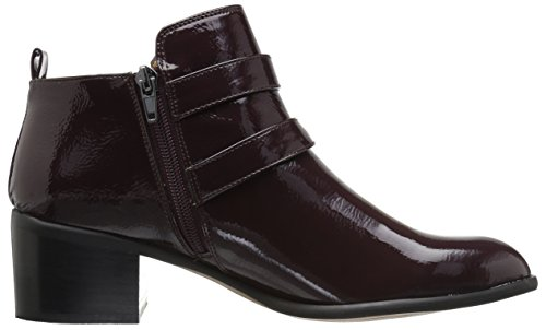 Ankle Burgundy Dark Sarto Raina Boot Franco Women's qwt0fBH
