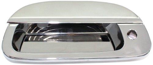 All Sales 503L Polished Billet Aluminum Tailgate Handle Assembly