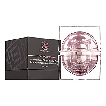 Forever Flawless Diamond Infused Collagen Boosting Cream Designed for Anti-Aging, Facial Moisturizer for Women, Anti-Wrinkle, Collagen Booster for Face and Neck, FF32 1.76 oz