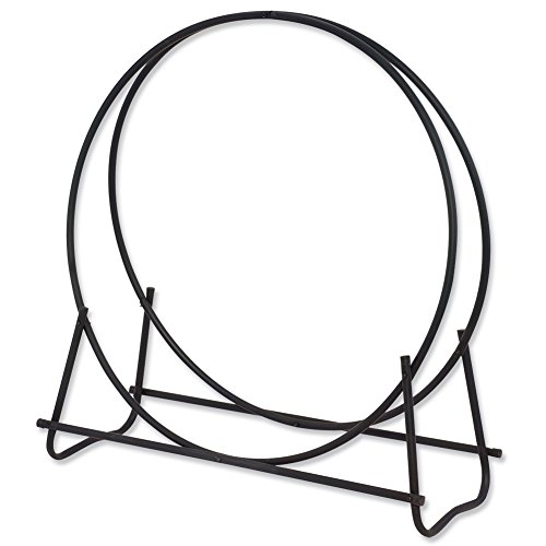 (Uniflame, W-1889, Black Finish 48 in. Diameter Tubular Log Hoop)