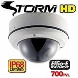 EYEMAX DT-632V - Effio-E™ STORM® IP68 Dome - 700TVL + Sony Super ExView HAD II + 2.8~12mm AVF + IP68 + ATR + DNR+ HLC