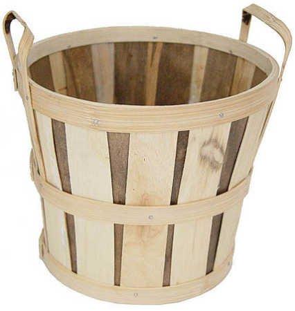 Fall Mum or Apple Basket for Floral Arrangements or Display