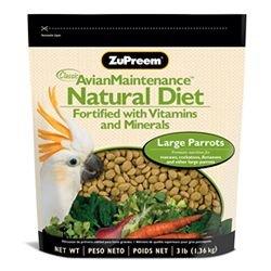 ZUPREEM 230358 Natural Large Bird Food, 20-Pound, My Pet Supplies