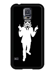 7075570M470101321 Samsung Galaxy S5 I9600 case, Star Wars Stormtrooper Anime Theme Hard Back Cute Case Cover Fit for Galaxy S5