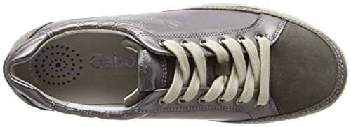 Shoes Gris Peltro Gabor Sneakers Basses Comfort Femme 98 Argento TwUSdqA