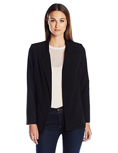 Briggs New York Women's Bistretch Long Sleeve Jacket, Black, X-Large