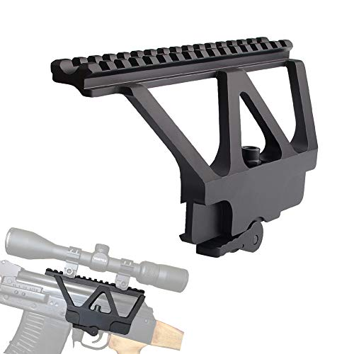 Bumlon Scope Rail Mount A-K Side Weaver with QD Solid Construction Perfect Match Receiver Interface Picatinny