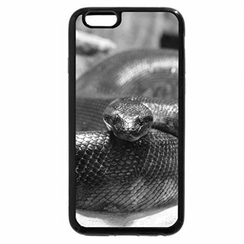 iPhone 6S Plus Case, iPhone 6 Plus Case (Black & White) - Anakonda