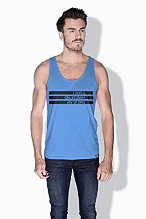 Creo This Is My Handstand T Shirt Funny Tanks Tops For Men - S, Blue