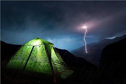 WZH Geschwindigkeit-freie Öffnung 3-4 Zivilschutz Sturm Doppel Doppel automatische outdoor Zelt camping wasserdicht zu bauen