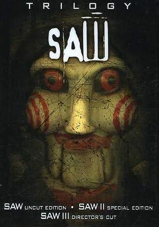 Amazon com: The Saw Trilogy (Saw/ Saw II/ Saw III): Tobin