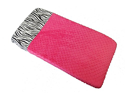 Sisi Baby Design Diaper Changing Table Pad Cover - Hot Pink -