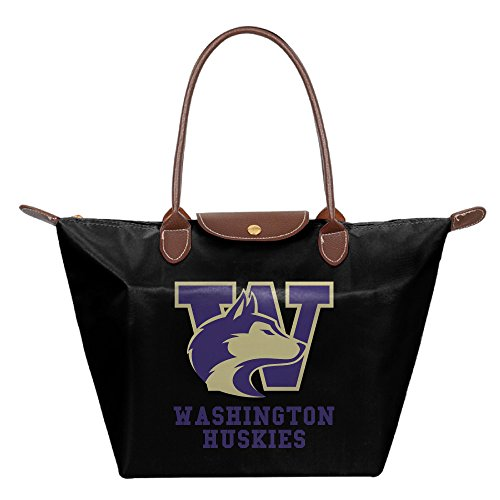 [FALKING Women's Washington Huskies Football?€??€? Waterproof Hand Bag Tote Bag For Beach Shopping With] (Resident Evil 5 Alice Costume)