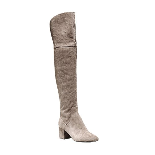 Cole Haan Women's Raina Grand OTK Boot II, Morel Suede, 9 B US by Cole Haan