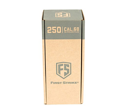 First Strike Paintballs 250Ct- Brass/Copper/Blue Fill by First Strike
