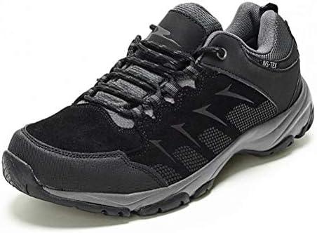 Men s Waterproof Hiking Shoes Non-Slip Sneakers Low Top for Outdoor Trailing Trekking Walking Mountaining Camping