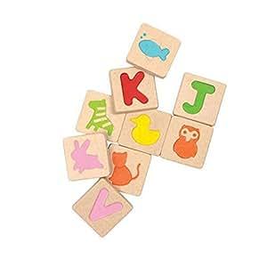 Plan Toys - 5613 - Abecedario Plan Toys 24m+
