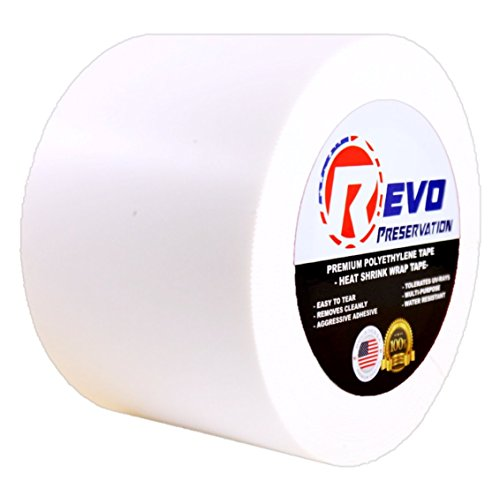 revo-preservation-tape-heat-shrink-wrap-tape-4-x-60-yards-made-in-usa-white-poly-tape-electrical-tap