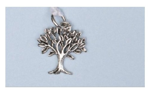 Beaucoup Designs Wedding Cake Decoration Charms Silver Bridal Pulls (Tree)