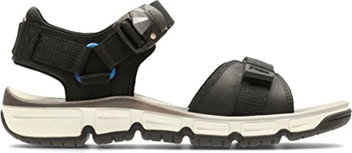 Nubuck Part Men's Clarks Black Explore Leather Sandals qwXOTpA