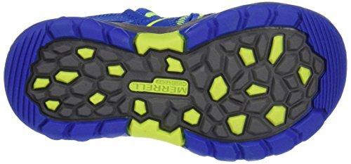 Merrell Hydro, Zapatillas Impermeables para Niños Multicolor (Blue/Citron)