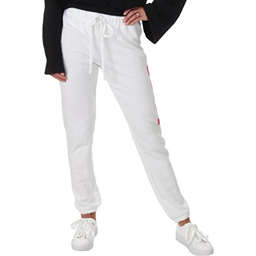 Juicy Couture Womens French Terry Jogger Sweatpants White M ()