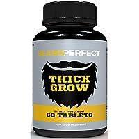 BEARDPERFECT Thick Grow - Get a Stronger, Longer, Thicker Beard - Beard Growth Formula...