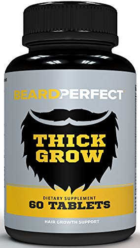 BEARDPERFECT Thick Grow, Beard Growth Formula for Men