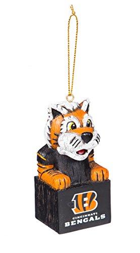 Team Sports America 3OT3806MAS Cincinnati Bengals Mascot Ornament