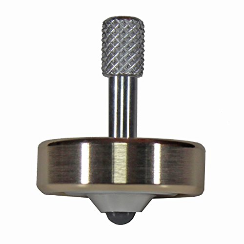 Spin Monkey Tops SM1B 1 Inch Brass and Aluminum Spinning Top
