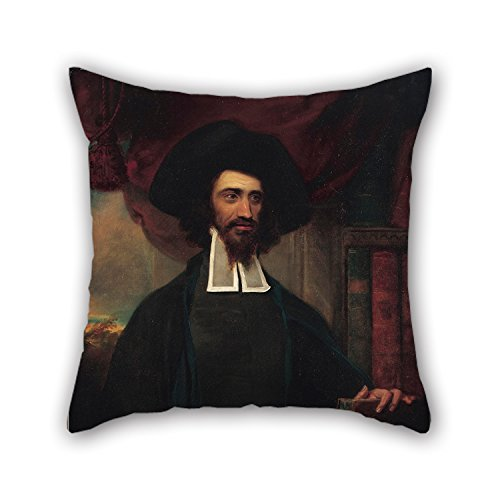 Slimmingpiggy The Oil Painting Barlin, Frederick Benjamin - Rabbi Solomon Hirschel Throw Pillow Case Of ,20 X 20 Inches / 50 By 50 Cm Decoration,gift For Home Office,gf,coffee