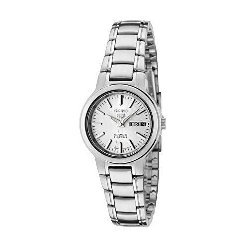 Seiko Unisex-Adult Analogue Classic Automatic Watch with Stainless Steel Strap SYMK13K1