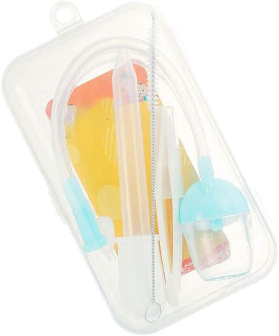 Nariz limpiador aspirador nasal bebé recién nacido Conjunto de ...