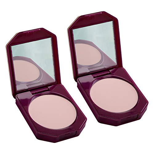 Olivia 100% Oil Free Compact Powder Natural Rose 15g Shade No.4 – Pack of 2