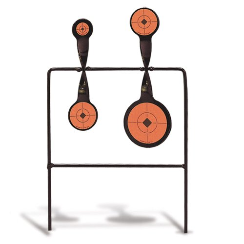 Birchwood Casey DQA22 Duplex 22 Quad-Action - 22 Metal Rimfire Target