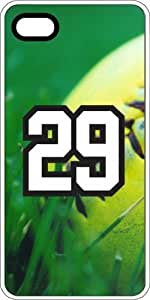 Basketball Sports Fan Player Number 29 Clear Plastic Decorative iPhone 4/4s Case