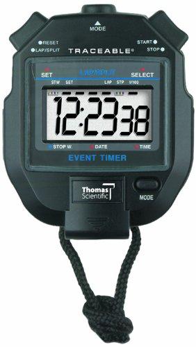 Thomas 1051 ABS Plastic Jumbo Digit Stopwatch with 1/2