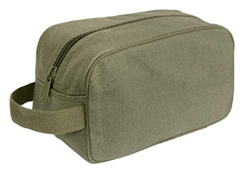 (Rothco Canvas Travel Kit, Olive Drab )