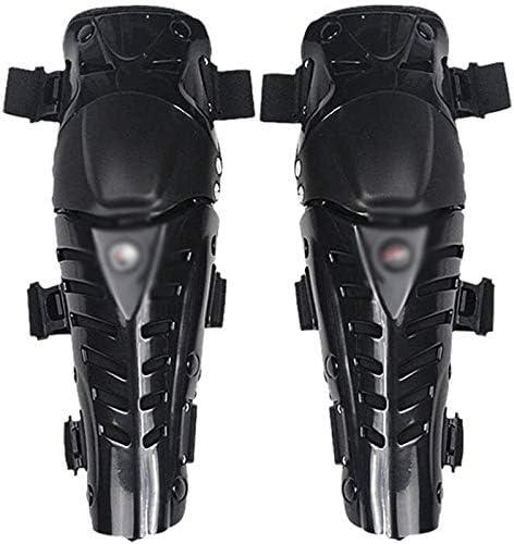 KDKDA Protective Knee Pads Anti-Slip Collision Avoidance Knee Sleeve Motorcycle Knee Pads Sport Knee/Shin Guards Black