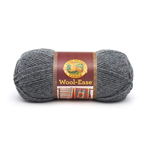 Lion Brand WoolEase Yarn 152 Oxford Grey Oxford Grey 620152