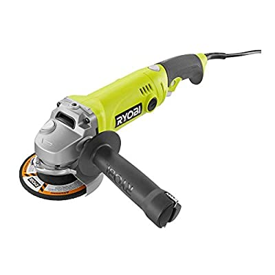 Ryobi 4-1/2 Angle Grinder With Rotating Rear Handle