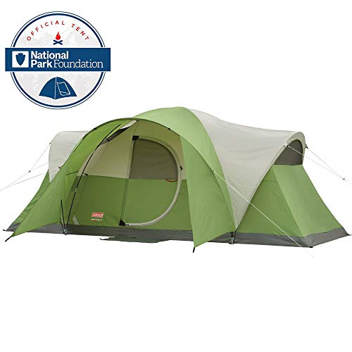 Camp Out Awning - Coleman 8-Person Tent for Camping | Elite Montana Tent with Easy Setup
