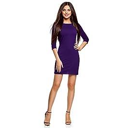 oodji Ultra Women's Basic Jersey Dress