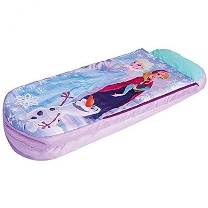 Disney Frozen Frozen Junior Ready Bed hinchable Cuna de viaje infantil Saco de dormir Cama Colchón