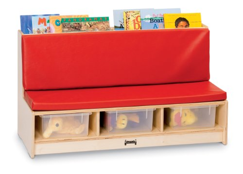 Jonti-Craft 37480JC Literacy Couch, Red by Jonti-Craft
