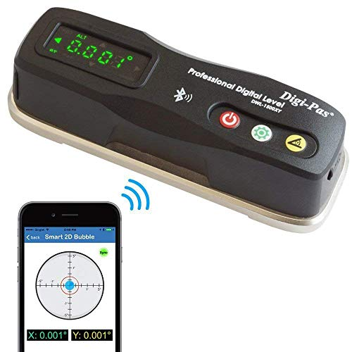 Digi-Pas 2-Axis Smart Master Precision Level DWL1500XY Bluetooth, 0.0002