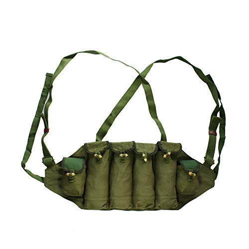 Reproduction Green Chinese Type 81 Type Chest Rig 6 Pockets Magazine Bag Pouch