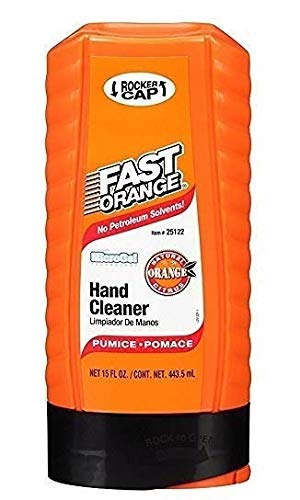 Permatex  25122 Fast Orange Pumice Lotion Hand Cleaner - 15 fl. oz. (10 Pack)
