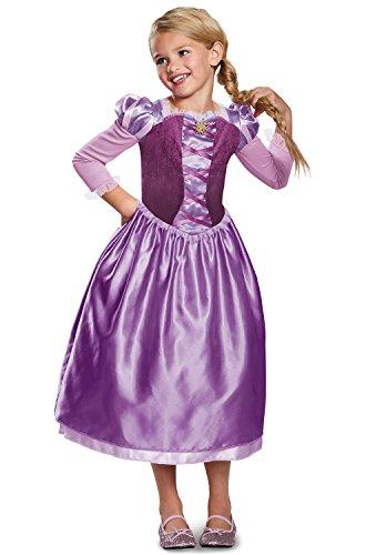 Rapunzel Day Dress Classic Costume, Purple, X-Small (3T-4T) ()