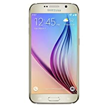 Samsung Galaxy S6 - 32 GB - Manufacture Refurbished, Unlocked Phone, No Warranty, Gold - Retail Packaging